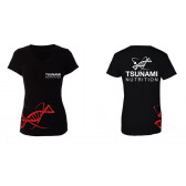 T-Shirt Official TSUNAMI NUTRITION™ Donna