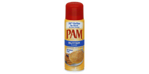 pam cooking spray butter - 146ml