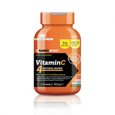VITAMINA C 4NATURAL BLEND 90 tbl