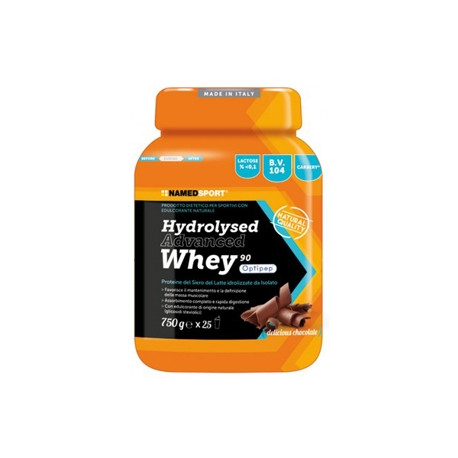 HYDROLYSED ADVANCED WHEY 750 G NAMED