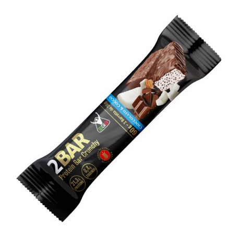 2BAR Protein Bar Crunchy 60 g