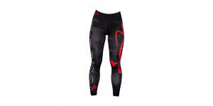 LEGGINGS DONNA TSUNAMI BLACK CAMO