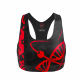 Crop Top BLACK CAMO DONNA Tsunami Nutrition