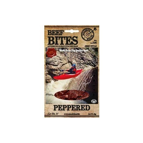 BEEF BITES 50 G PEPPERED