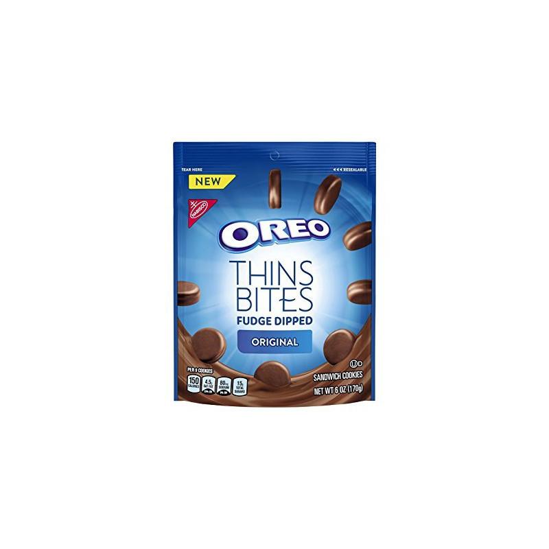 OREO Thins Bites Fudge 168g