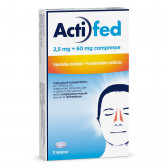 ACTIFED 2,5mg + 60mg 12cpr
