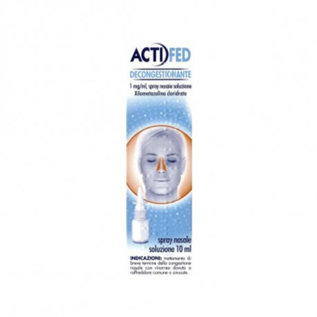 ACTIFED DECONGESTIONANTE Spray 10ml