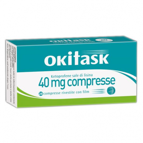 okitask 40mg - 20 compresse
