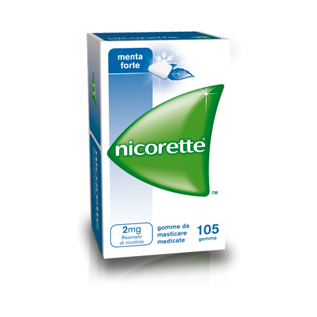 Nicorette Gomme Menta Forte 2mg 105 gomme