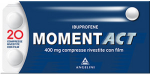 MOMENT ACT 400 mg 20 compresse