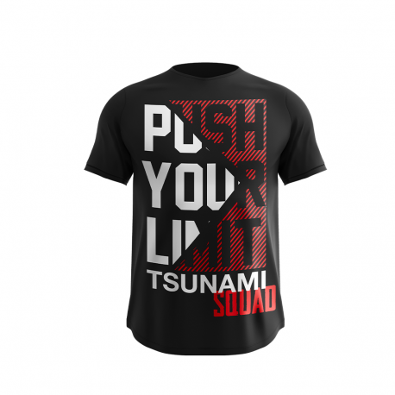 """PUSH YOUR LIMIT"" T-SHIRT - TSUNAMI SQUAD"