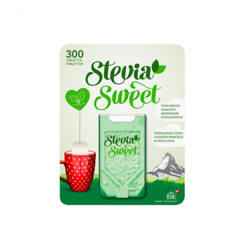 STEVIA SWEET 300 cpr