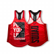 TANK DONNA TOP PUSH YOUR LIMIT RED