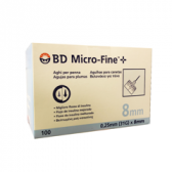 Ago BD MICRO-FINE™+ 0,25 mm (31 g) x 8 mm