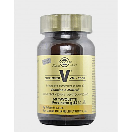 VM 2000 SUPPLEMENT 60 CPS