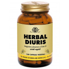 HERBAL DIURIS 100 CPS